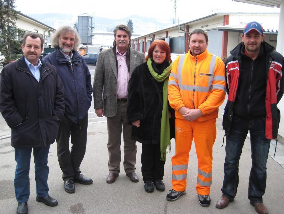 "Stadträtin Andrea Wulz sagt Müllwerkern ""Danke!"""