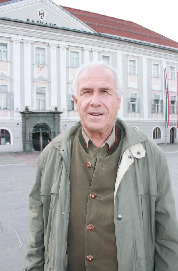 Grünen-Gemeinderat Reinhold Gasper feiert seinen 75. Geburtstag!