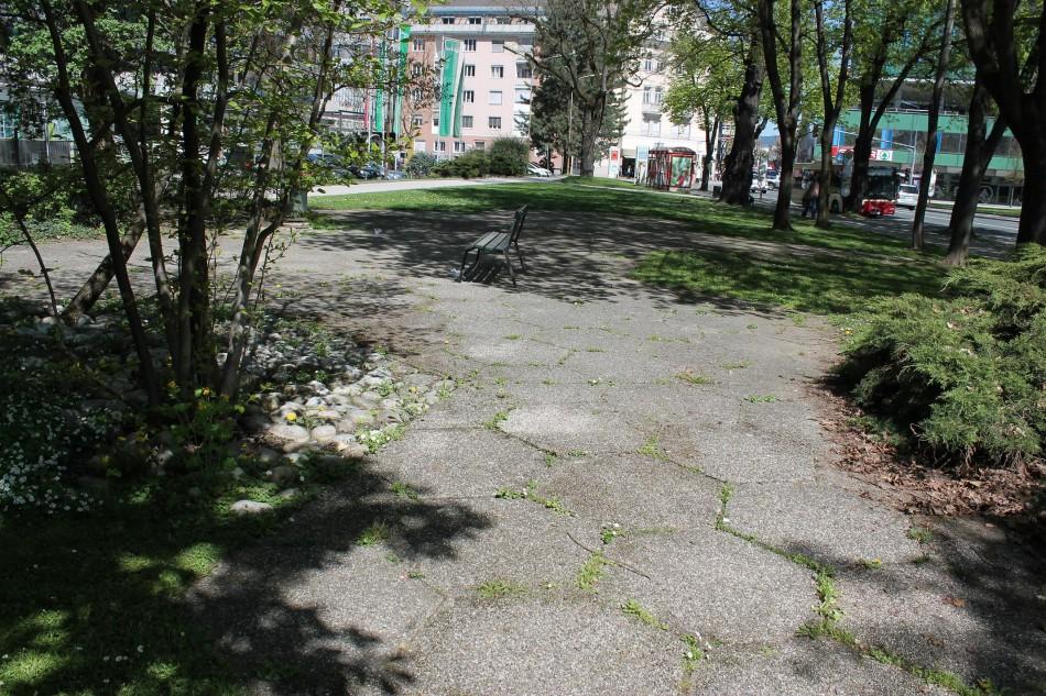Verwahrloster Park soll endlich saniert werden!