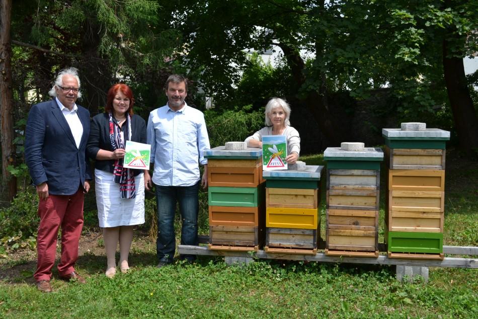 """""""Rent a bee"""": Bienenpatenschaften in Klagenfurt"""