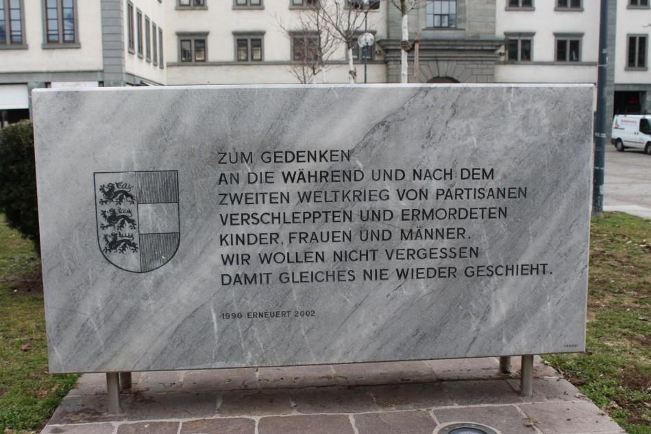 FPÖ war 1990 auch gegen Partisanen-Opfer-Gedenkstätte