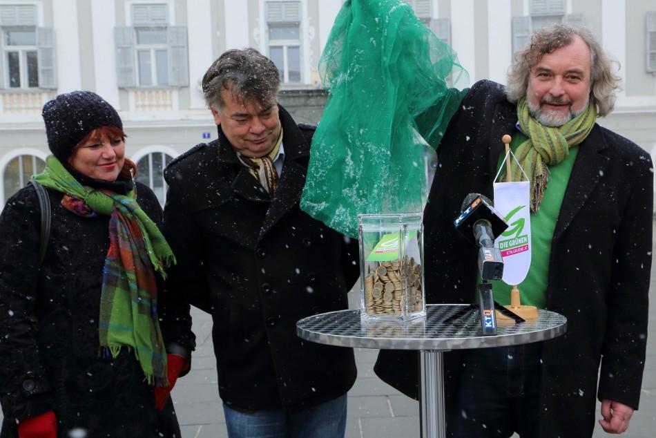 """Frey/Kogler: """"Gläserne Kasse"""" in Klagenfurt Voraussetzung für die Budgetsanierung"""