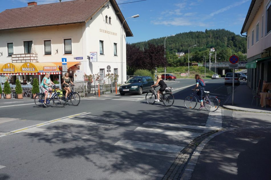 Grünes Licht für RadfahrerInnen und FußgängerInnen
